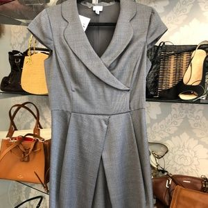 ARMANI COLLEZIONI Gray & White Print Dress